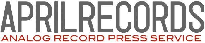 エイプリルレコード アナログプレスサービス logo